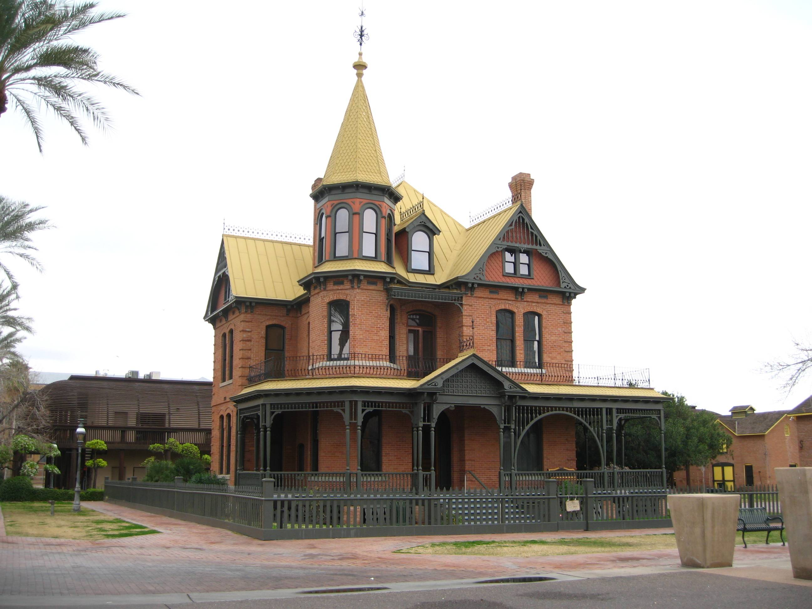 History lesson the haute 5 historical landmarks in for Victorian houses for sale in arizona
