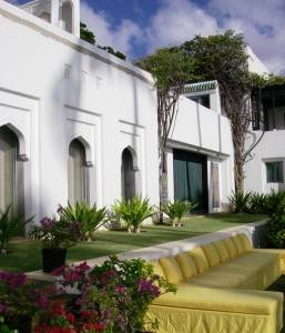 Grounds of Shangri La Estate