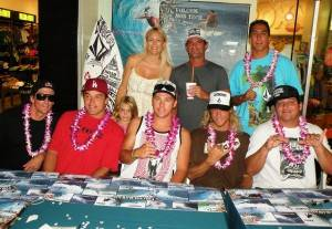 Pro Surfer Bruce Irons and the Volcom Pro Riders