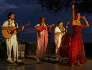 Hula and Live Hawaiian Music