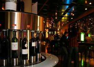 One of the Self-Service Wine Stations at Amuse