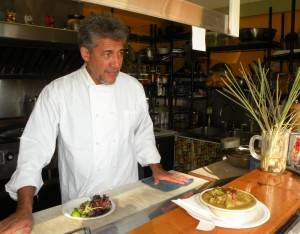 Owner/Chef Norman Berg - Vida Food for Life
