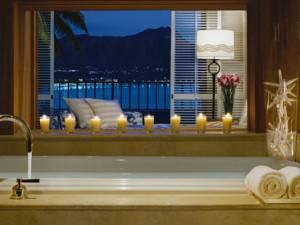 The Vera Wang Suite - Halekulani at 2199 Kalia Road, Honolulu * Phone 808.923.2311