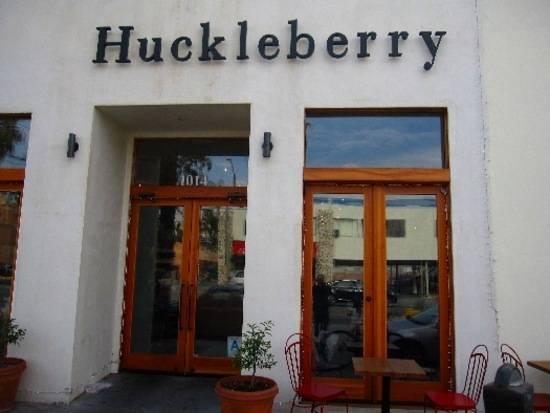 huckleberry cafe santa monica