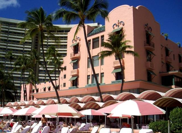 The Royal Hawaiian - 2259 Kalakaua Avenue, Honolulu * Phone 808.923.7311