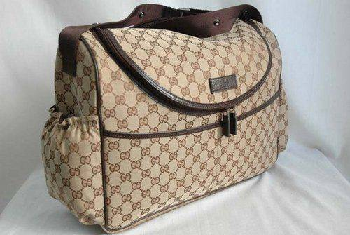 A Favorite Of Halle Berry S The Gucci Diaper Bag Is Perfect Replacement To Your Old Designer Once You Turn Mommy