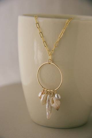 Val Loh Designs - Gold Dreamcatcher Necklace