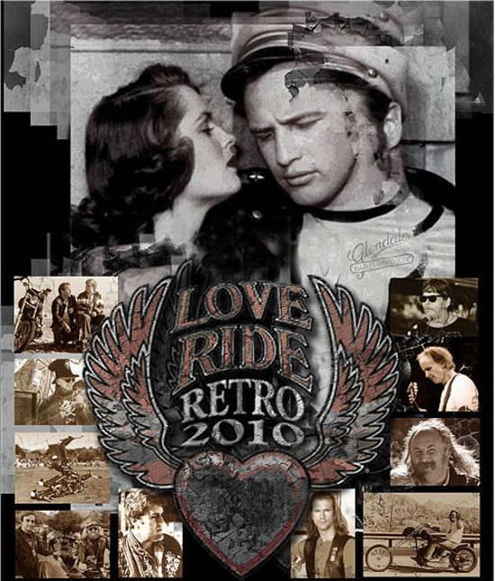 Love Ride Harley Davidson