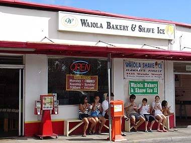 Waiola Bakery & Shave Ice - 525 Kapahulu Avenue, Honolulu * Phone 808.735.8886