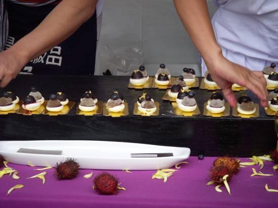 Labriola Cafe Rice Cake