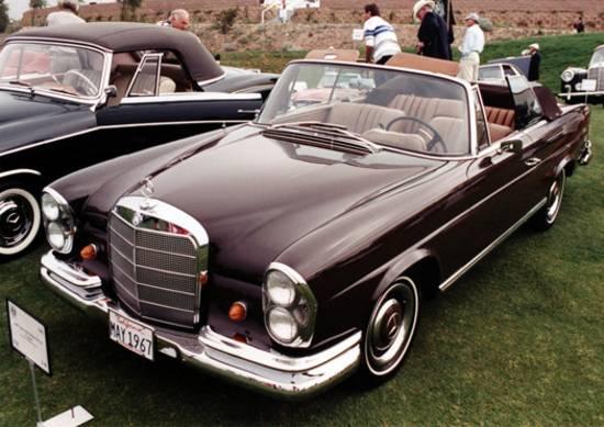 vintage mercedes benz concours d'elegance
