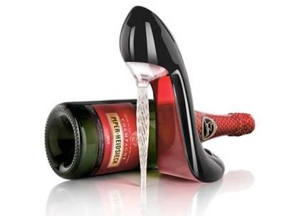 christian louboutin wine bottle holder