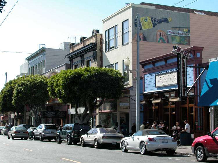 Shoe Stores On Fillmore Street In San Francisco