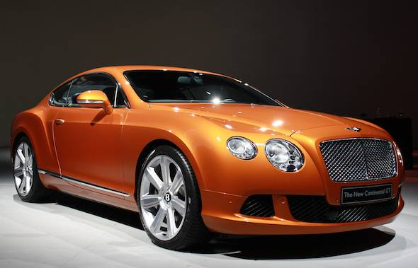The New Bentley Continental GT Comes To America  Haute Living