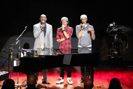 Brian mcknight and sons in concert