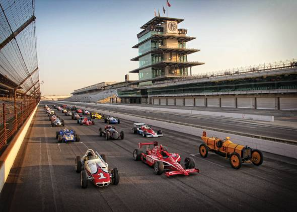 Indianapolis 500 winning cars