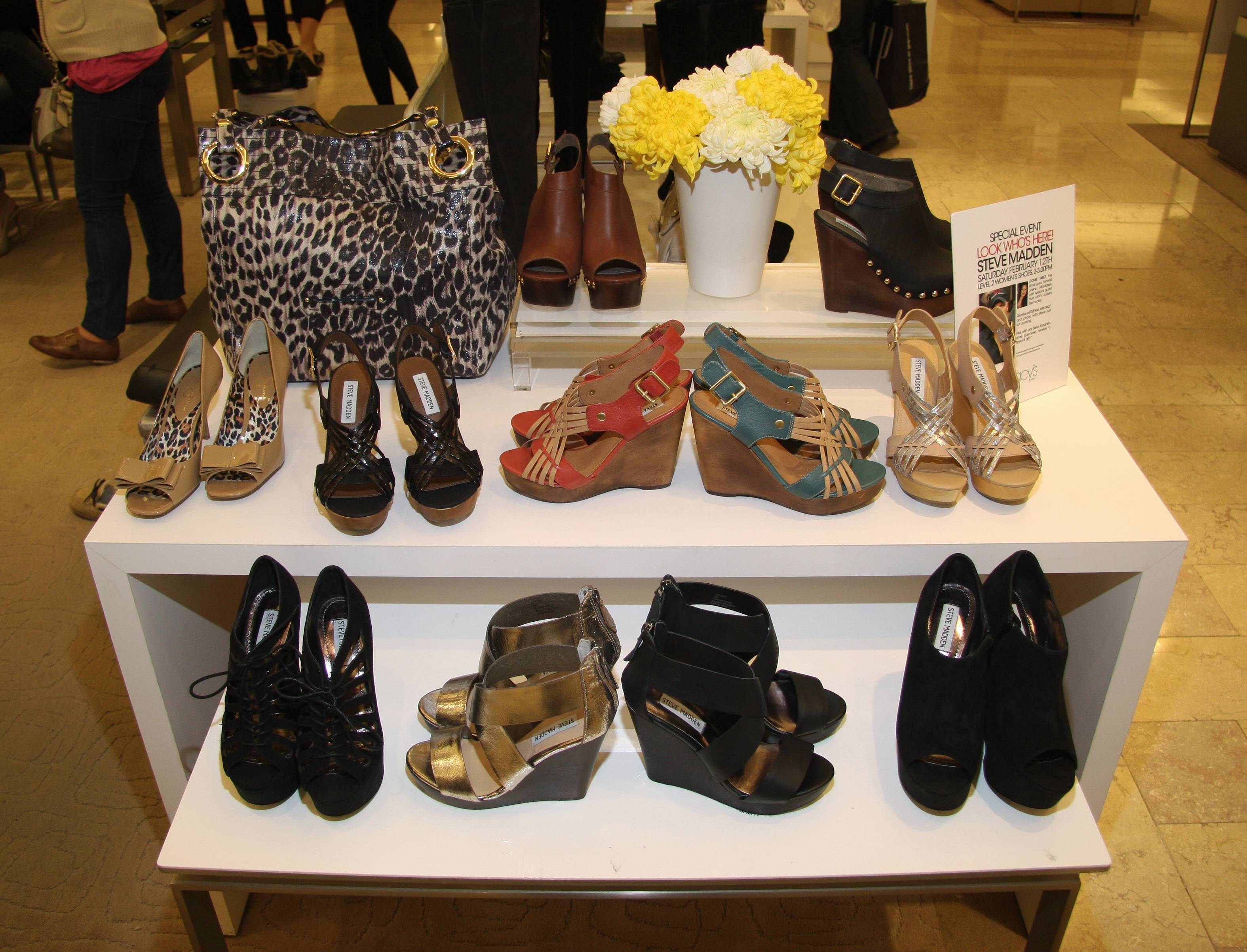 15c2012570c Haute Event: Steve Madden Makes Special Appearance at Macy's Union ...