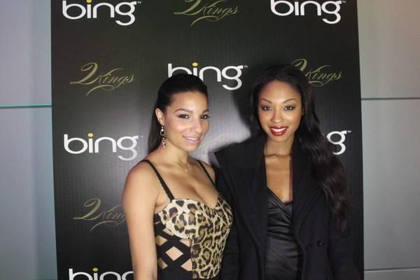Laryssa Stevens and Tanisha Harper