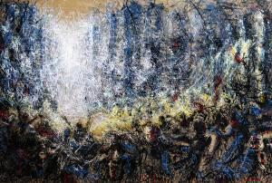 La tempete de lumiere by Charbel Samuel Aoun