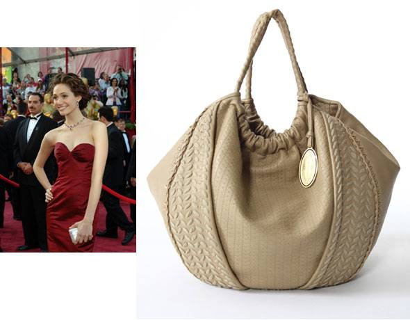 Emmy Rossum collaborates with Elie Tahari for handbag collection