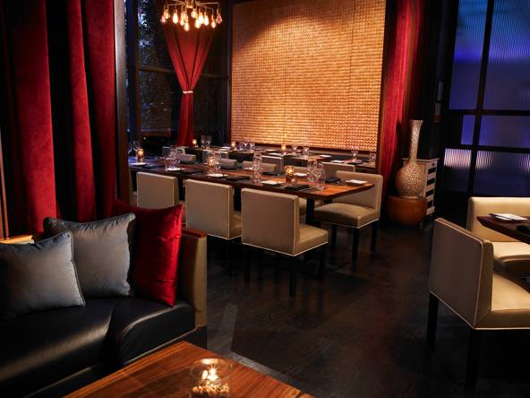 haute dining ninethirty restaurant at the w los angeles westwood haute living. Black Bedroom Furniture Sets. Home Design Ideas