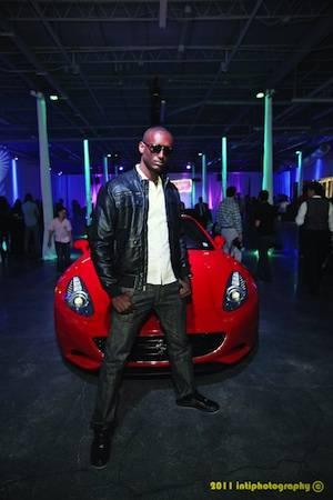 Hope for Haiti Player's Exotic Car Rental