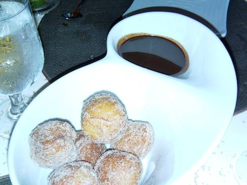 Pastry with Mexican Chocolate