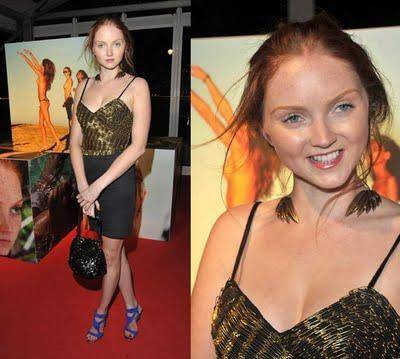 lily cole pirelli. Lily Cole wearing the Angel