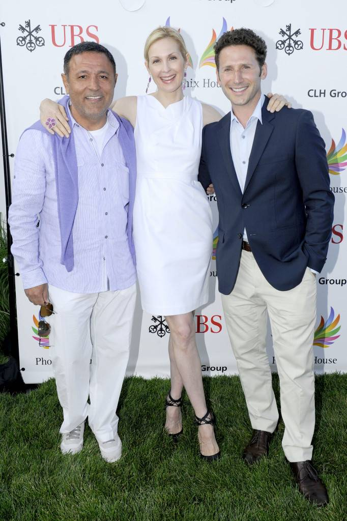 Fashion Designer Elie Tahari, Gossip Girl star Kelly Rutherford and Royal Pains star Mark Feuerstein