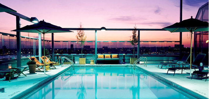 Haute Summer Explore The Rooftop Pools Of New York