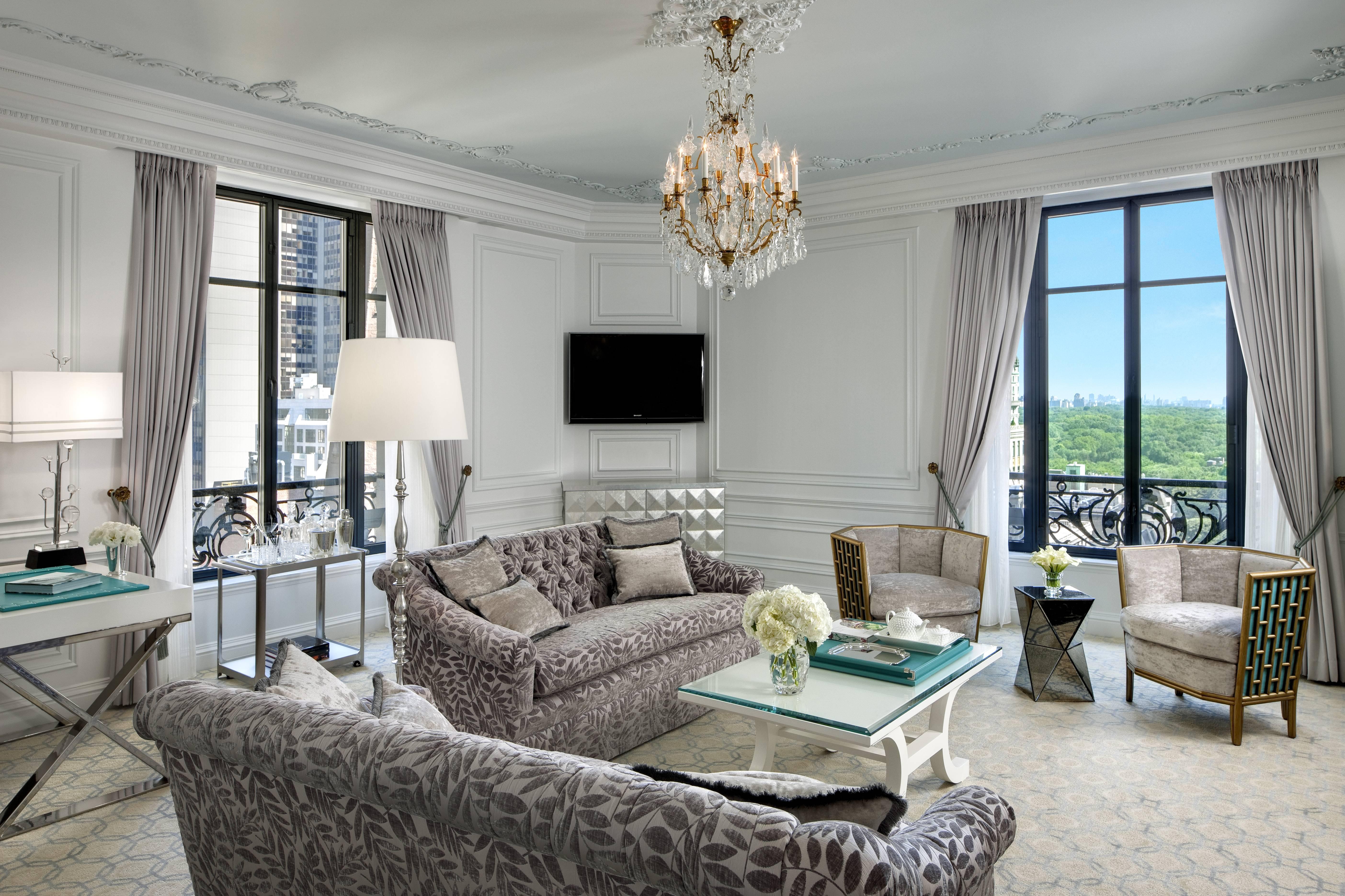 St regis new york tiffany suite haute living
