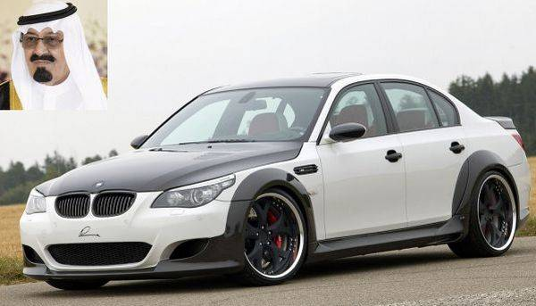 photo of Abdul Aziz bin Saud  Luma CLR 730 RS (Customized  BMW M5 E60 ) - car