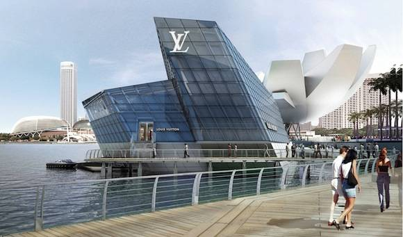 Louis Vuitton Island Maison Opening In Singapore
