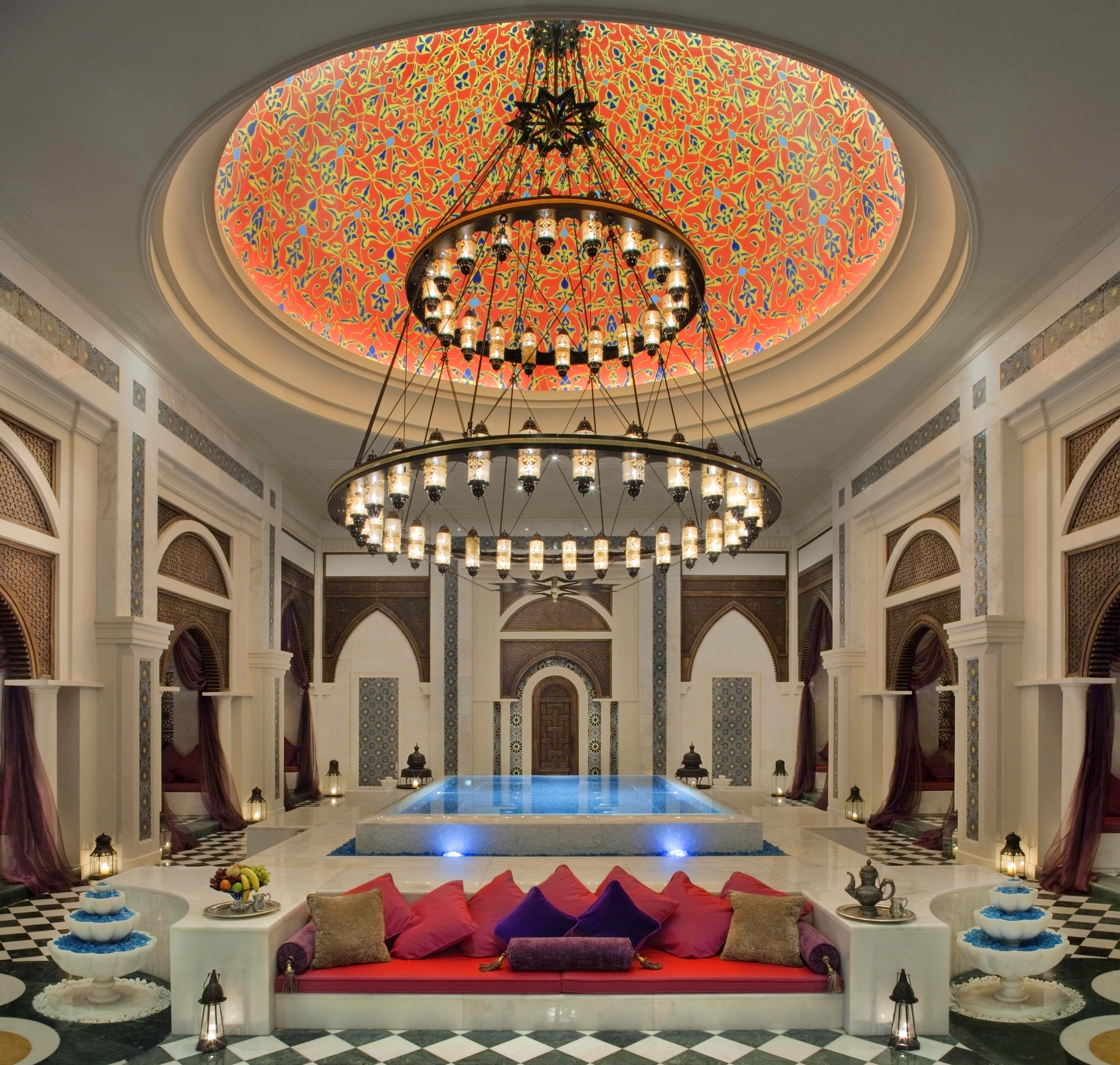 Turkish luxuries talise ottoman spa haute living for Hotel world design