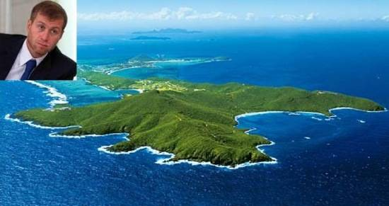 island owned by british virgin owner