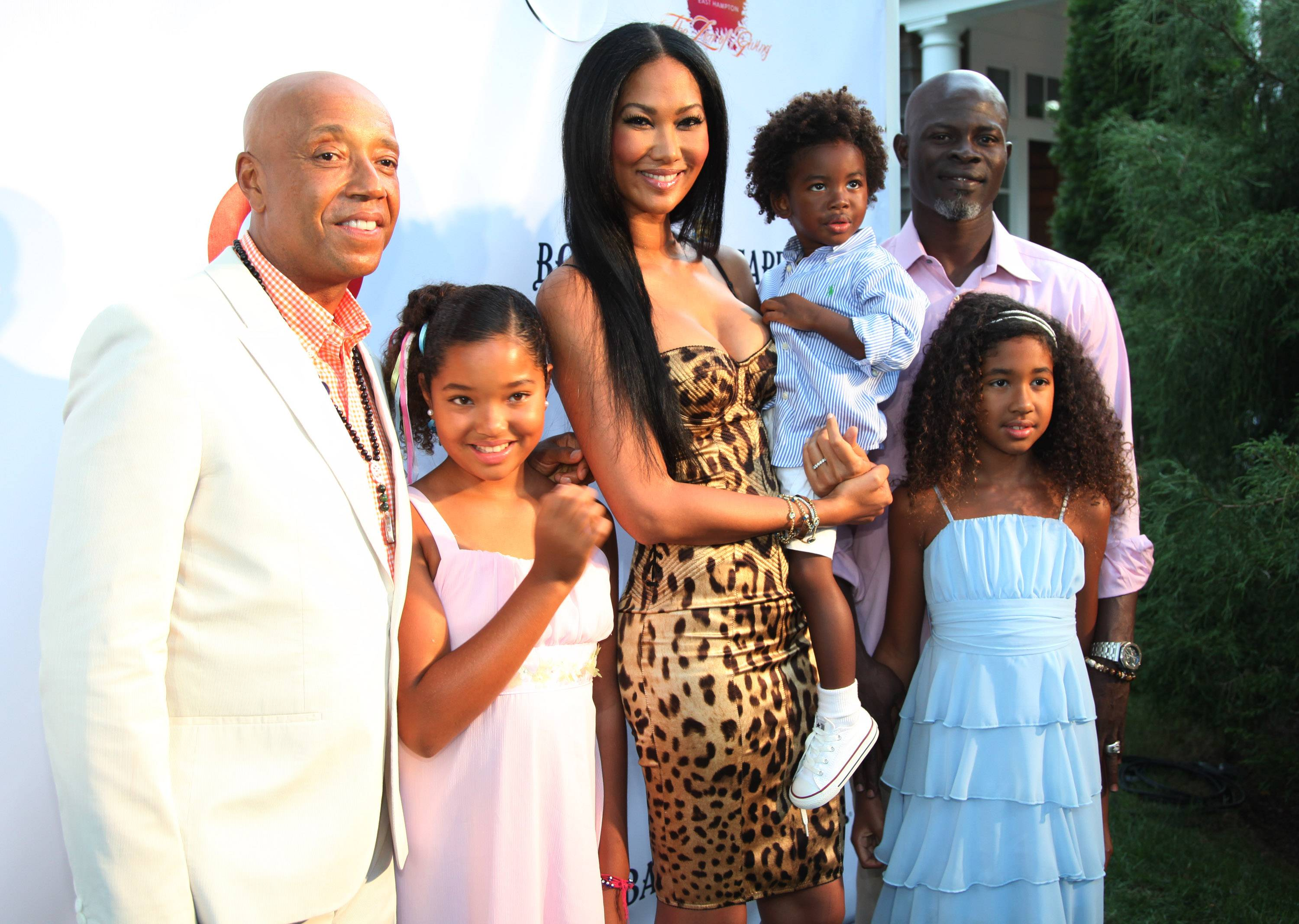 russell simmons family the image kid has it. Black Bedroom Furniture Sets. Home Design Ideas