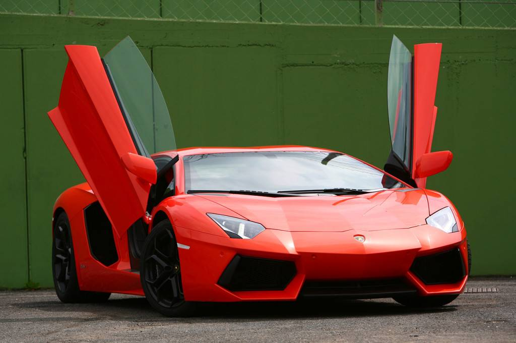 2012 Lamborghini Aventador LP700 4 At Jay Lenou0027s Garage