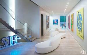 Donny deutsch s contemporary new york city townhouse for Interior design deutsch
