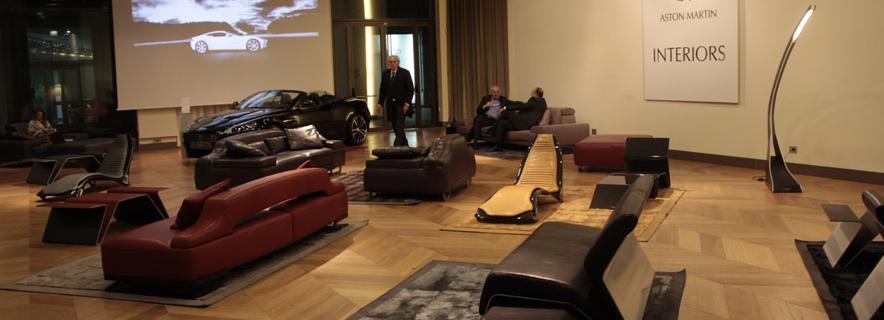 haute toys: aston martin office furniture collection - haute living