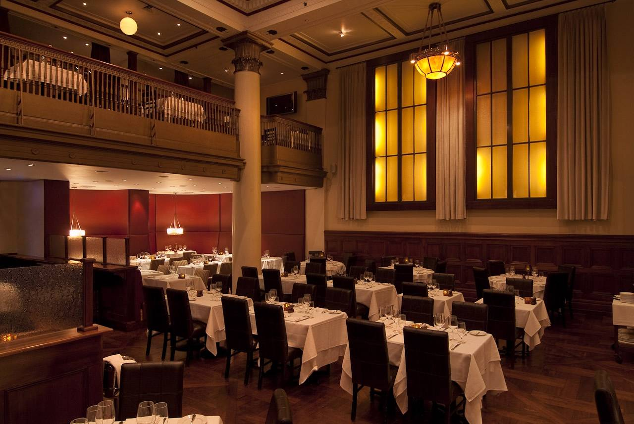 Get in a new york state of mind at benjamin steakhouse for Best dining rooms nyc