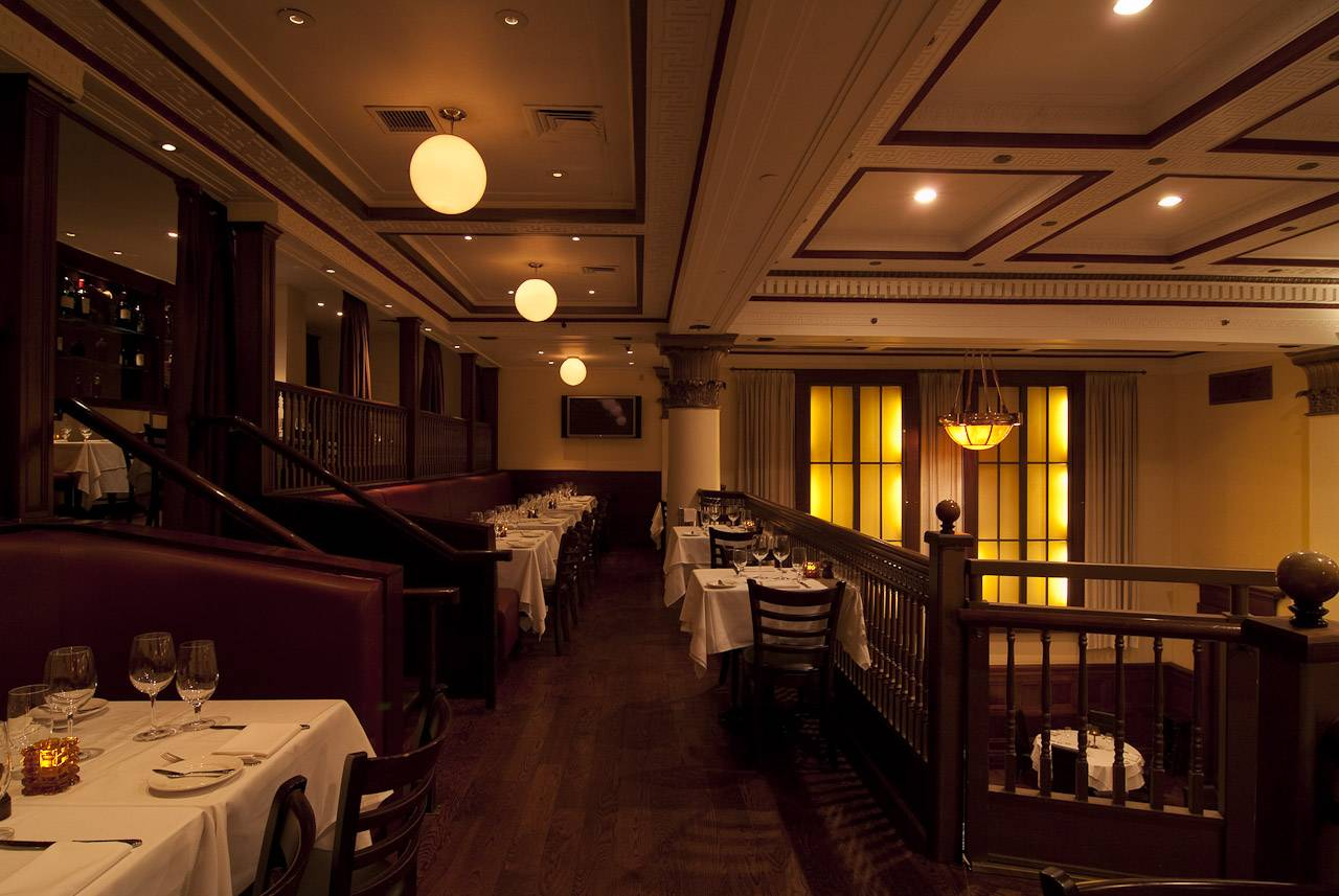 Get in a new york state of mind at benjamin steakhouse for Best private dining rooms new york city