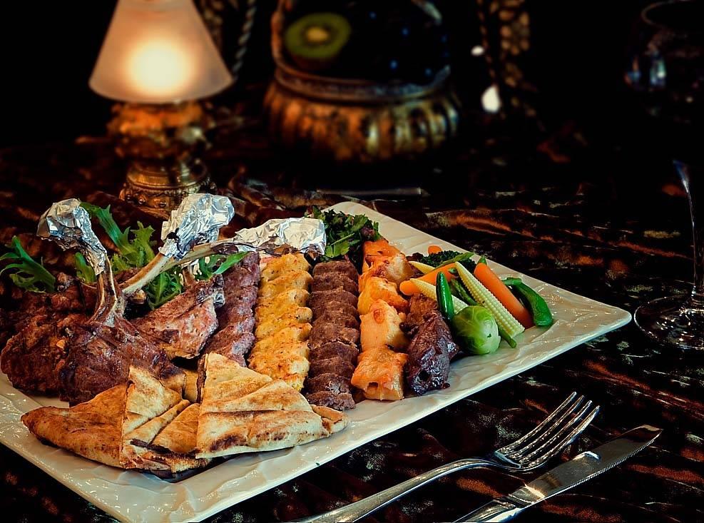 Haute eat times of arabia in souk madinat jumeirah for Arabic cuisine in dubai