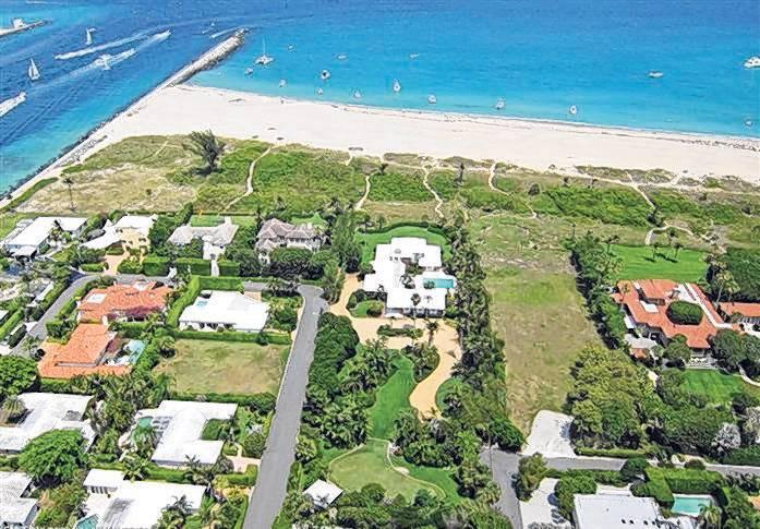 Robert E Rich Jr Sells Palm Beach Mansion For