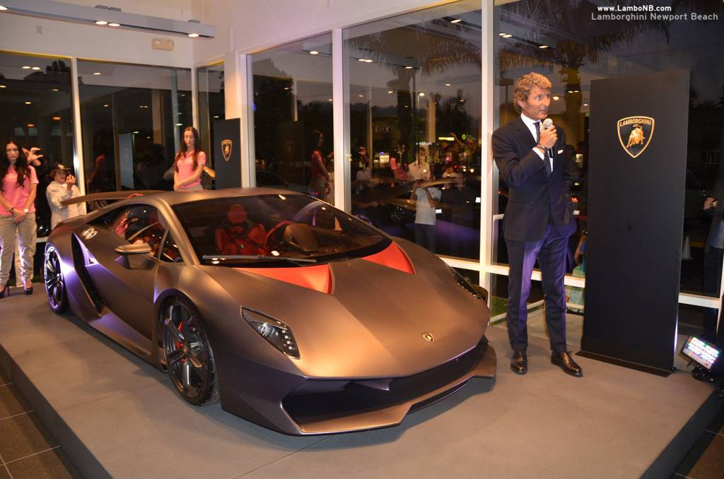 Lamborghini Newport Beach Celebrates Grand Opening With Unveiling Of