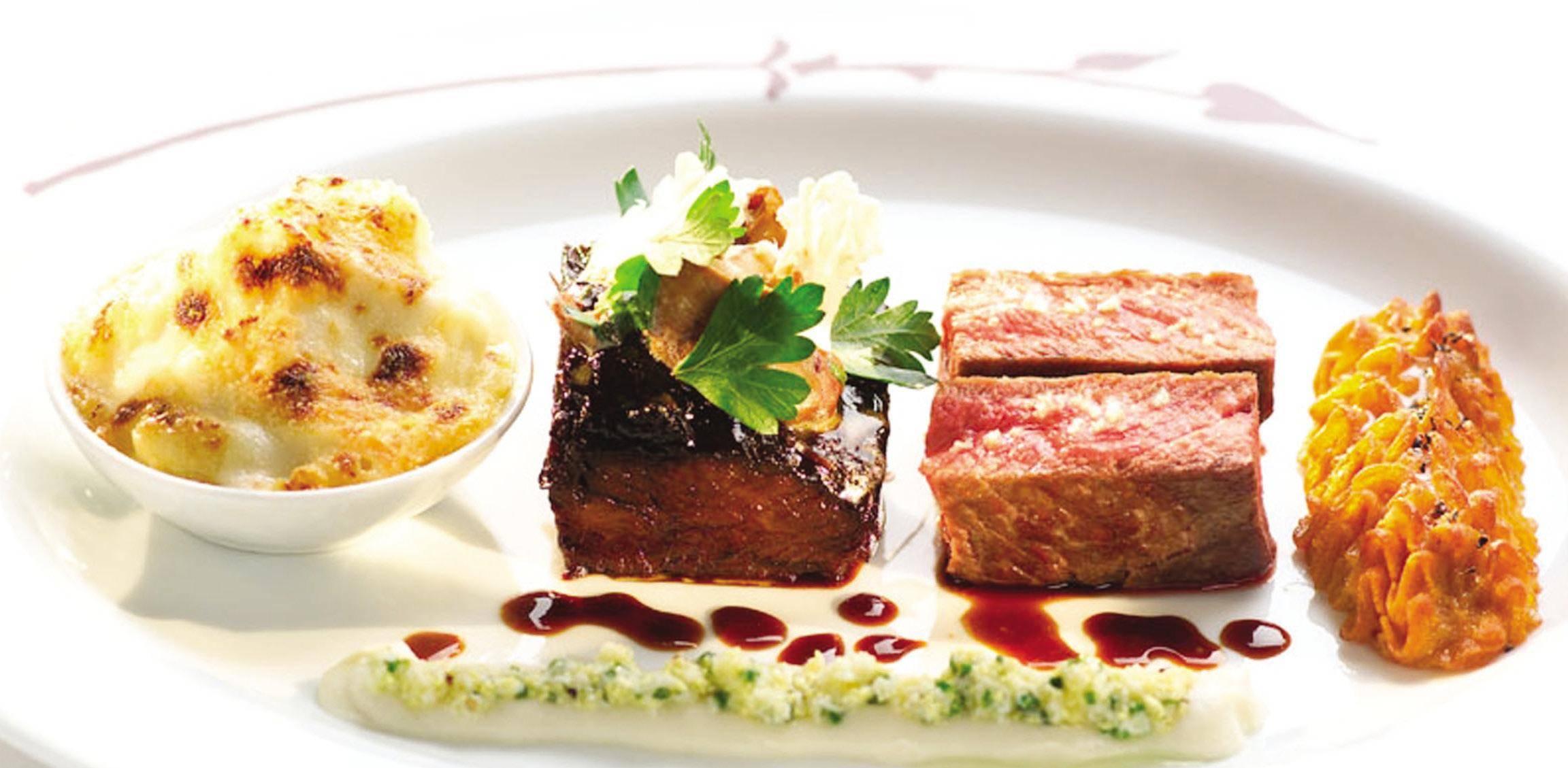 Bon appetit haute cuisine new york jean georges bouley la grenouille and more haute living - French haute cuisine dishes ...
