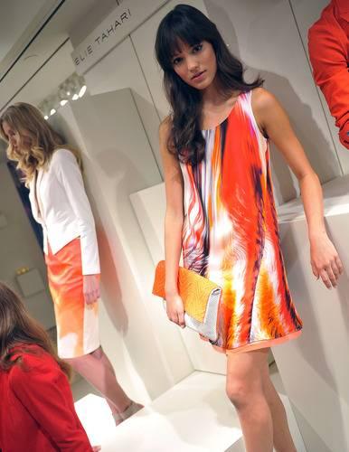 Tahari Highlights Palm Beach Style At New York Fashion