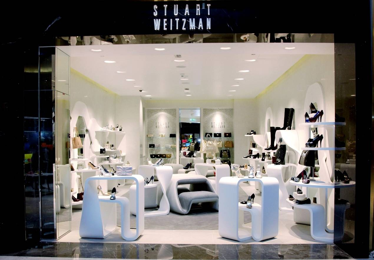Obsessed with shoes stuart weitzman opens its first for Dubai boutique