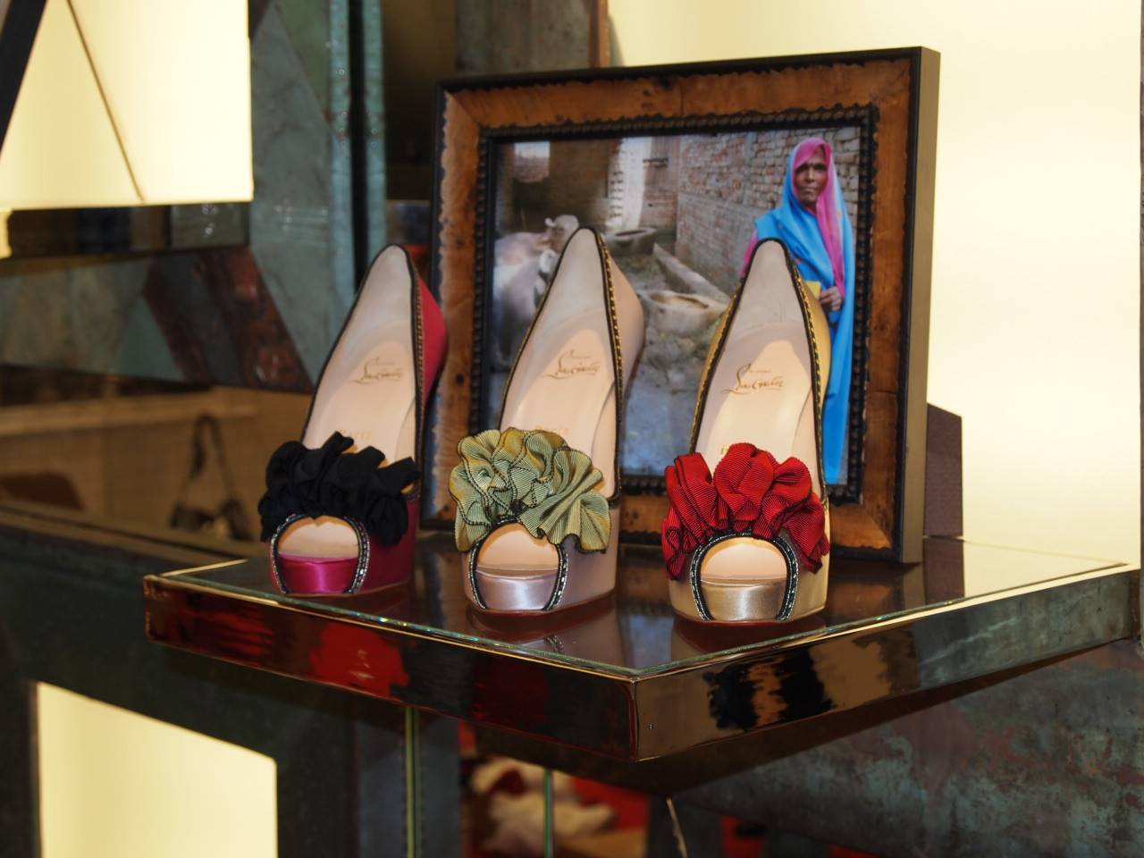 d9a84f4f Christian Louboutin creates literally uplifting shoes with his vivacious red  soled stilletos. However this season he created a limited shoe where  purchasing ...