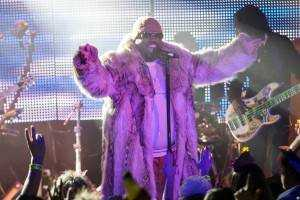 CeeLo Green welcomes 2013 at Belly Up Aspen. Credit: Michael Goldberg