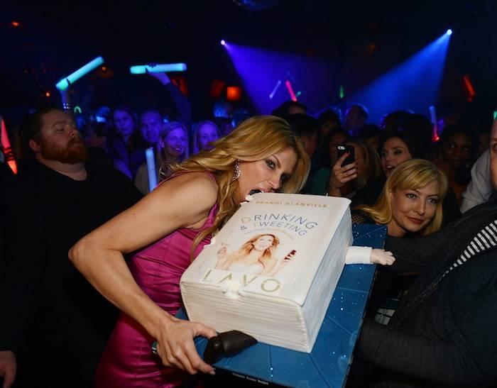 Brandi Glanville celebrates the launch of her new book at Lavo. Photos: Denise Truscello/WireImage